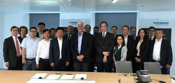 Υπογραφή της τρίτης σύμβασης του SunStone Ships σε πλοίο της κλάσης INFINITY. Φωτογραφία: Ulstein Design & Solutions