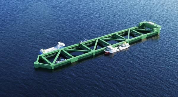 Η εικόνα προσφέρθηκε από την Nordlaks / NSK Ship Design