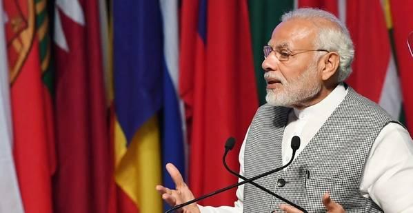 Η πρωθυπουργός της Ινδίας Narendra Modi. Φωτογραφία PIB