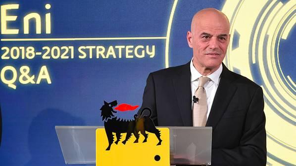 Генеральный директор Eni Клаудио Дескальци (Фото: Eni)