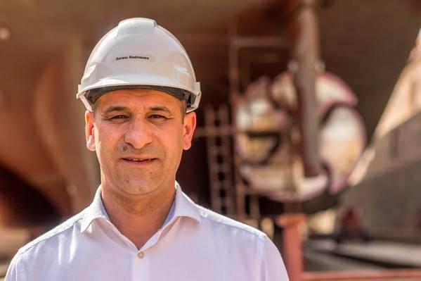 Морской торговый директор Rocha Серхио Родригес