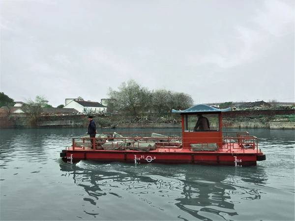 Очистка реки Торджидо Сучжоу (Фото: Torqeedo)
