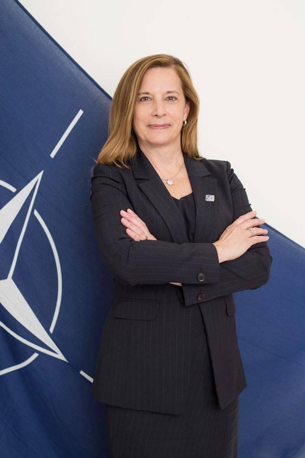 الدكتورة كاثرين وارنر ، مديرة الناتو CMRE الصورة: CMRE