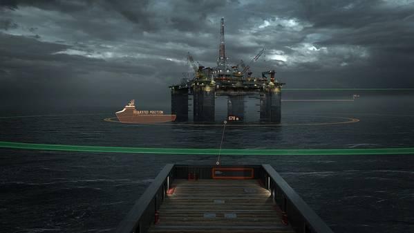 الصورة مجاملة من رولز رويس البحرية