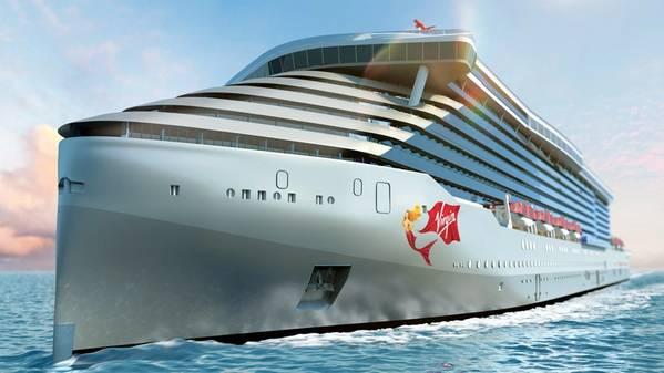 الصورة مجاملة من Virgin Voyages