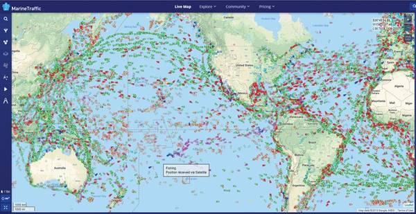 المصدر: MarineTraffic.com