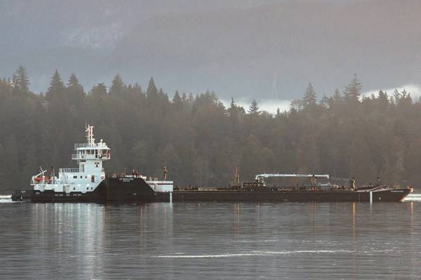 جزيرة رايدر / قرار ITB في Burrard Inlet (الصورة: Carolyn Matt ، Island Tug)