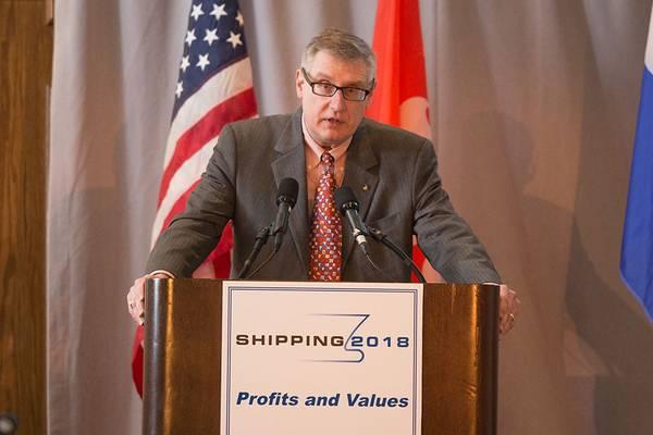 رئيس ABS ، الرئيس والمدير التنفيذي كريستوفر J. Wiernicki (الصورة: ABS)