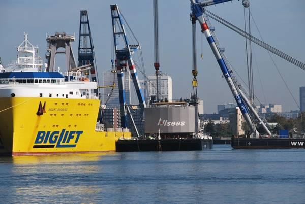 तस्वीर: रॉटरडैम का बंदरगाह
