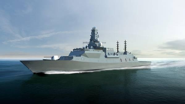 英国名次のタイプ26戦艦HMSカー...