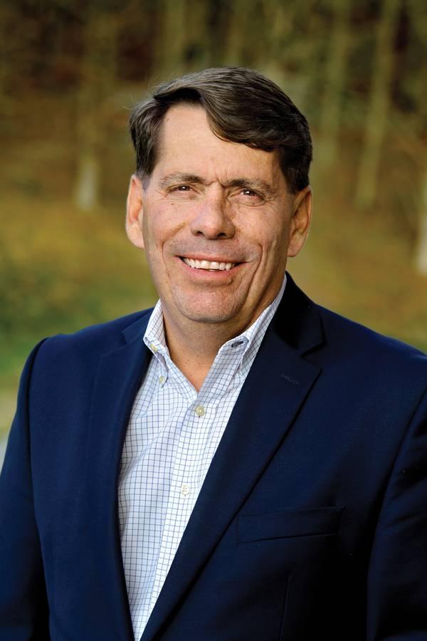 ボルボ・ペンタアメリカ大統領のロン・ヒイバーズ社長兼CEO。