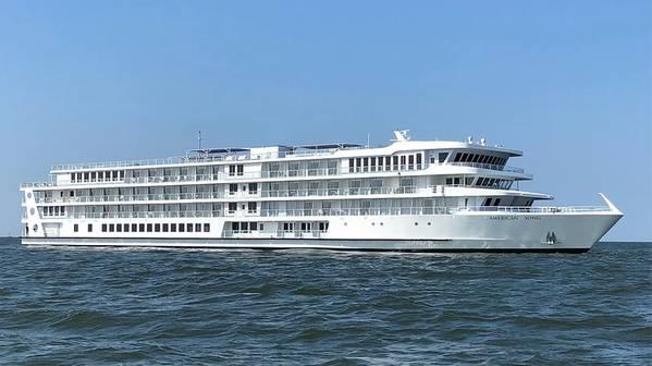 从Sea Trails返回的美国歌曲(照片:American Cruise Lines)