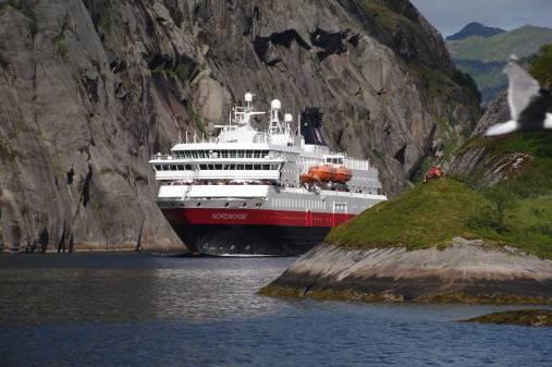 写真:Hurtigruten