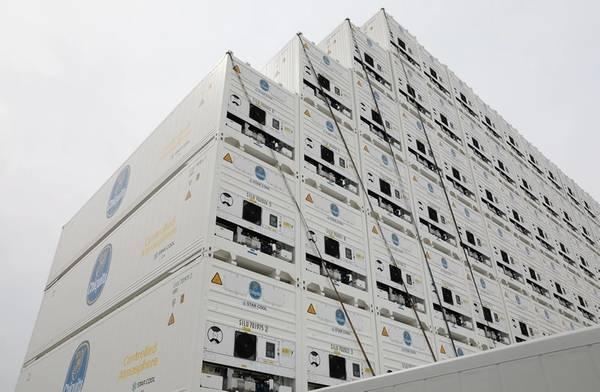 写真:Maerskコンテナ産業(MCI)