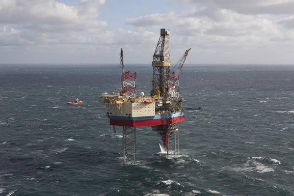 写真:Maersk掘削