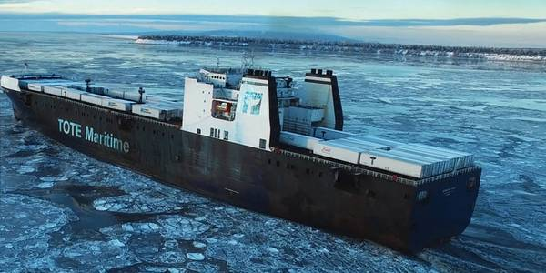 写真:TOTE Maritime