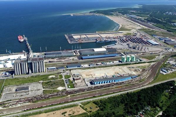 图片:塔林港