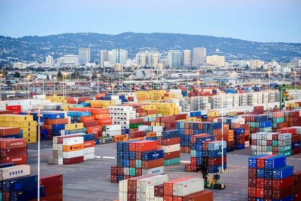 图片:奥克兰港
