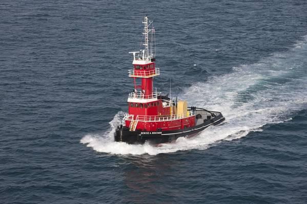 新的拖船将成为Denise A. Bouchard的姊妹船,如图所示(照片:VT Halter Marine)