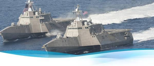 沿岸戦闘船(LCS)写真Austal