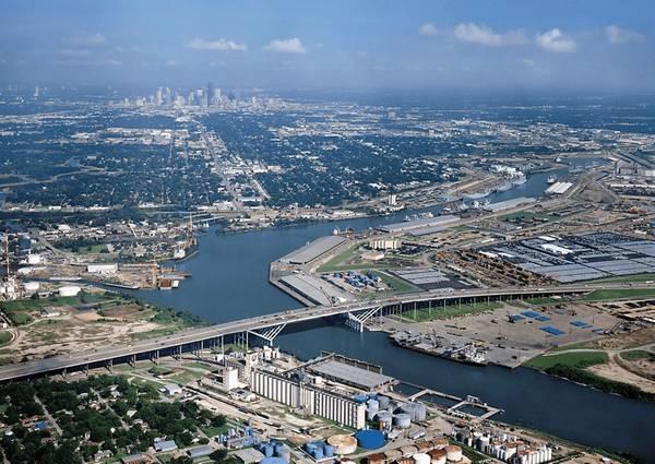 (ファイル写真:ヒューストン港)