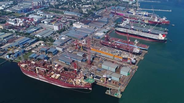 (ファイル写真:Keppel Offshore&Marine)