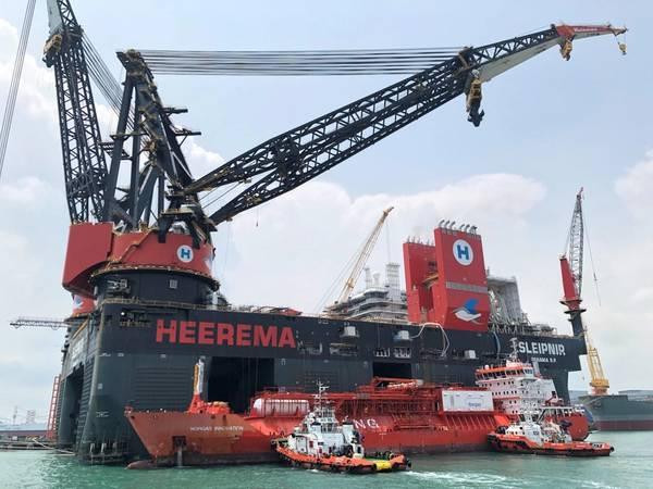 (写真:Heerema Marine Contractors)