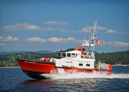 (文件照片:加拿大海岸警卫队)