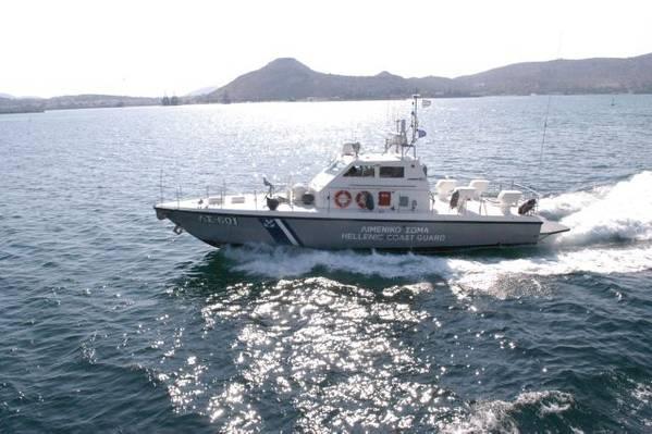 (照片由希腊海岸警卫队提供)