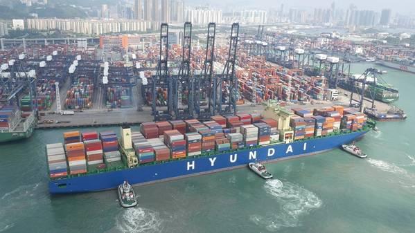 (Файл фото: Hyundai Merchant Marine)