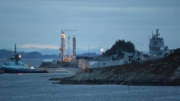 (الصورة: البحرية النرويجية)