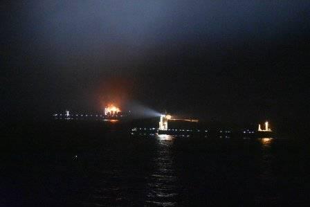 (الصورة: حرس السواحل الهندي)