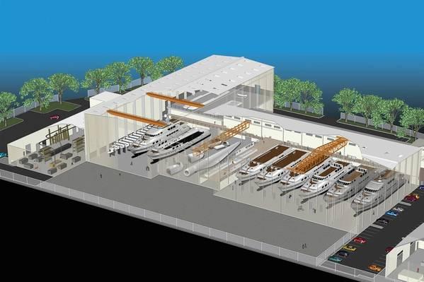 Vigorは、ワシントン州バンクーバーにある最新鋭の全アルミニウム製造施設を選びました。レンダリングの礼儀VIGOR