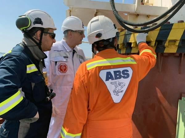 ABS董事长,总裁兼首席执行官Christopher J. Wiernicki。照片:ABS