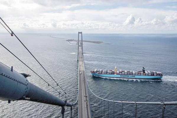 Arquivo Image: CREDIT Maersk