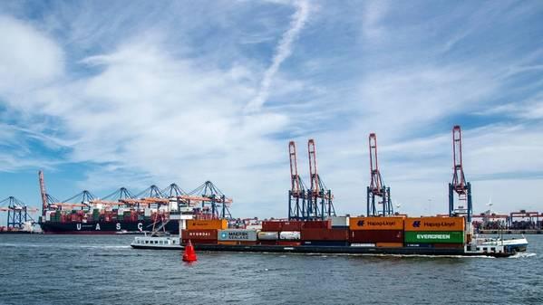 Bild: Hafen von Rotterdam