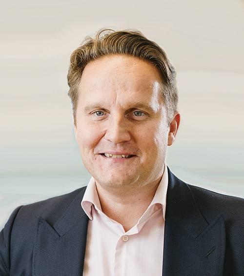CEO e Presidente do Grupo Evac, Tomi Gardemeister