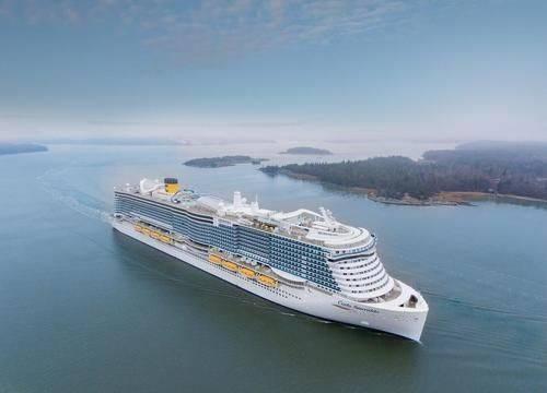 Costa Smeralda (Foto de arquivo: Costa Cruises)