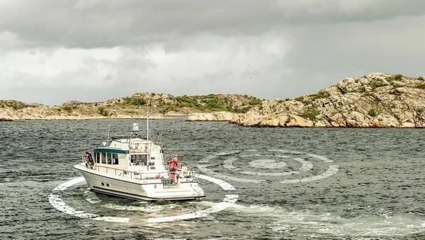 El DPS de Volvo Penta ahora tiene una función Reposicionamiento, que ayuda a mantener la posición en aguas entrecortadas y proporciona un movimiento refinado. Foto: Volvo Penta