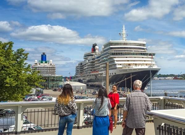 Foto: Hafen von Kiel