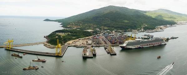 Foto: Hafen von Da Nang