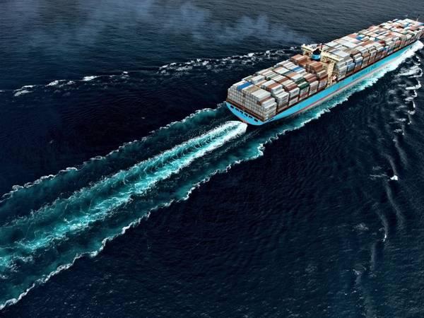 Foto cedida por Maersk