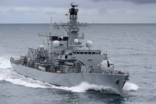 HMS Sutherland (foto de arquivo cortesia da Marinha Real)