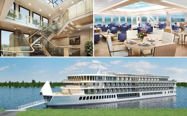Harmonia Americana (Foto: American Cruise Lines)