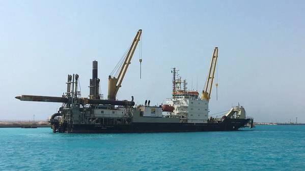 Το Huta 14 έχει ξαναρχίσει τις εργασίες μετά από διετή γενική επισκευή (Photo: Royal IHC)