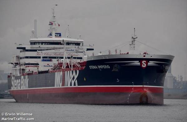 Imagem de arquivo do Stena Impero (CREDIT: MarineTraffic.com / © Erwin Willemse