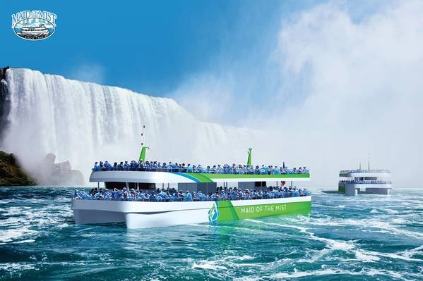 Imagem cortesia de Maid of the Mist Corp.