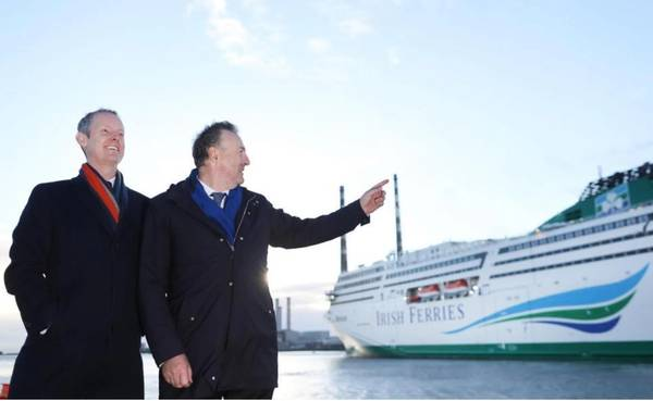 Irish Continental Group Ferry Projekt II. Bild: Europäische Investitionsbank