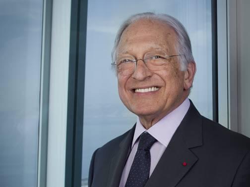 Jacques Saade, fundador da CMA CGM. Copyright REA