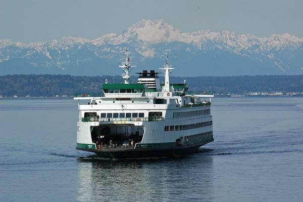 Jumbo Mark II class ferry Wenatchee (الصورة: Jim Culp / WSDOT)